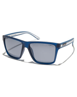 NAVY WHITE MENS ACCESSORIES LIIVE VISION SUNGLASSES - L0458ANVYWH