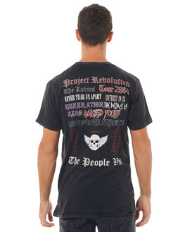 BLACK ACID MENS CLOTHING THE PEOPLE VS TEES - HS17010BACID