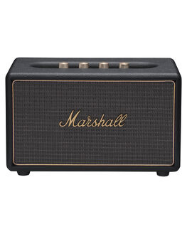 BLACK MENS ACCESSORIES MARSHALL AUDIO + CAMERAS - 152630BLK
