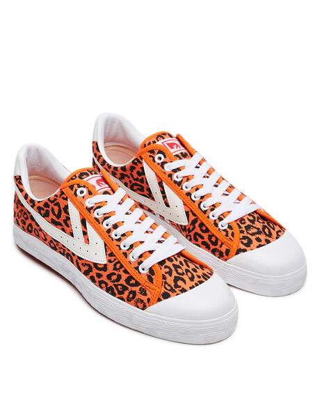 ORANGE MENS FOOTWEAR OBEY SNEAKERS - WB-OB-1EME