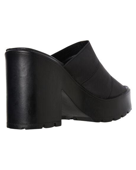 BLACK WOMENS FOOTWEAR ROC BOOTS AUSTRALIA HEELS - MINXBLK