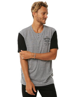 GREY BLACK MENS CLOTHING IMPERIAL MOTION TEES - 201703006019GRY