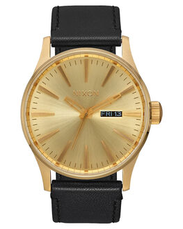 ALL GOLD BLACK MENS ACCESSORIES NIXON WATCHES - A105-510