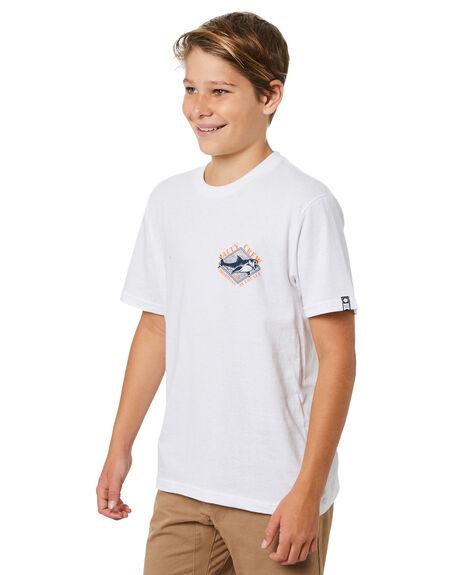 WHITE KIDS BOYS SALTY CREW TOPS - 20035382YWHT