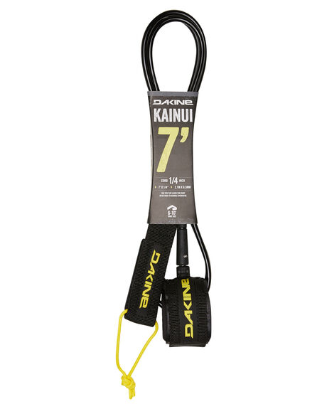 BLACK BOARDSPORTS SURF DAKINE LEASHES - 10001076BLK