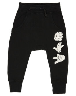 BLACK KIDS BOYS ROCK YOUR KID PANTS - TBP1919-MIBLK