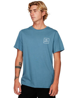CHINA BLUE MENS CLOTHING RVCA TEES - RV-R172062-CNU