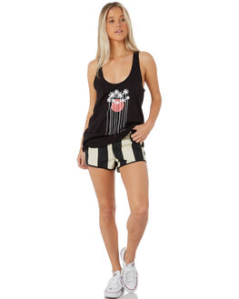 LIGHT CREME WOMENS CLOTHING HURLEY SHORTS - AJ3562-200