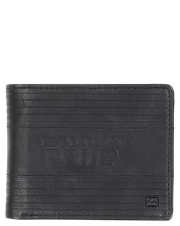 BLACK MENS ACCESSORIES BILLABONG WALLETS - 9691181ABLK