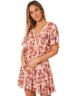 MULTI WOMENS CLOTHING MINKPINK DRESSES - MP1806474MULTI