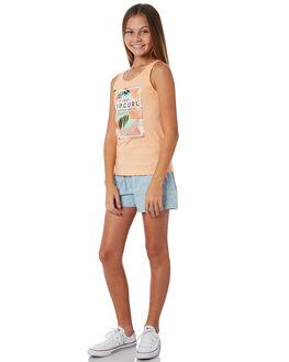 PEACH KIDS GIRLS RIP CURL TOPS - JTEDM10165