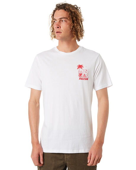 WHITE MENS CLOTHING VOLCOM TEES - A5031870WHT