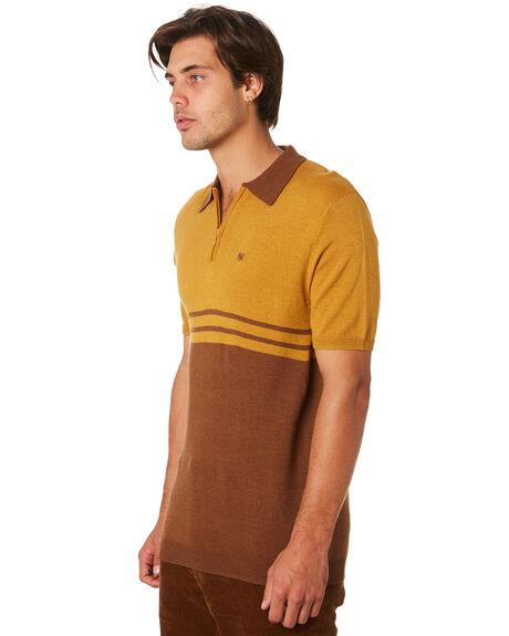 MAIZE BISON MENS CLOTHING BRIXTON SHIRTS - 02644MAIBI