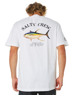 WHITE MENS CLOTHING SALTY CREW TEES - 20035039WHT