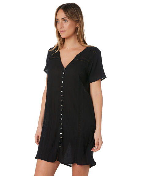 BLACK OUTLET WOMENS RIP CURL DRESSES - GDRHX10090
