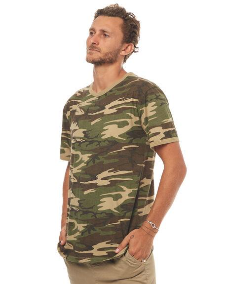 CAMO MENS CLOTHING THRILLS TEES - TH7-139FZCAMO