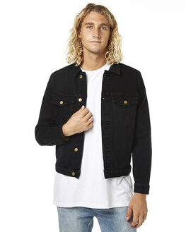 ROLLAS BLACK MENS CLOTHING ROLLAS JACKETS - 107741881