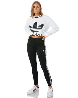 WHITE WOMENS CLOTHING ADIDAS ACTIVEWEAR - ED4759WHT