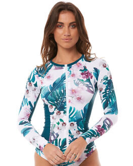 MODERN LAGOON SURF RASHVESTS NINE ISLANDS WOMENS - M8182342MDLAG