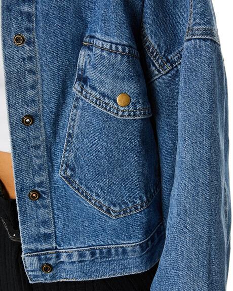DENIM WOMENS CLOTHING SNDYS JACKETS - SD014DEN
