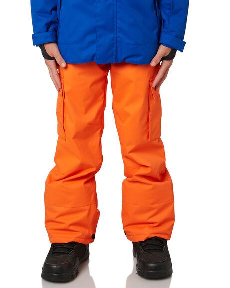 RED ORANGE BOARDSPORTS SNOW DC SHOES KIDS - EDBTP03009NMN0