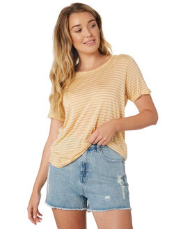 SOFT ROSE WOMENS CLOTHING ALL ABOUT EVE TEES - 6423042STR2