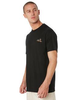 BLACK MENS CLOTHING PASS PORT TEES - PPBESTFRIENDBLK