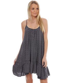 BLACK WOMENS CLOTHING VOLCOM DRESSES - B1331703BLK