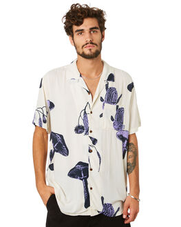 PURPLE MENS CLOTHING MISFIT SHIRTS - MT093401PURP