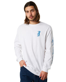WHITE OUTLET MENS PASS PORT TEES - DAYWLSWHT