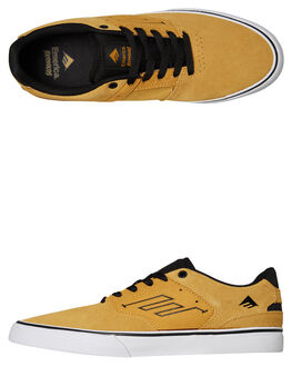 YELLOW MENS FOOTWEAR EMERICA SKATE SHOES - 6102000096700