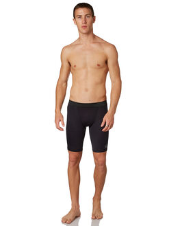 BLACK MENS CLOTHING FK SURF SWIMWEAR - 2401BLK