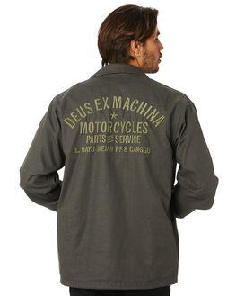 BELUGA MENS CLOTHING DEUS EX MACHINA JACKETS - DMP96778CBEL