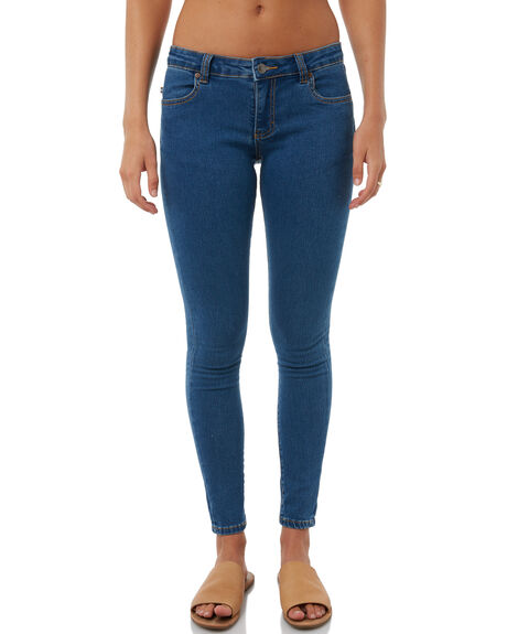 GRIND BLUE WOMENS CLOTHING RUSTY JEANS - PAL1053GDB