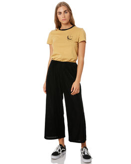 VINTAGE GOLD WOMENS CLOTHING VOLCOM TEES - B3541901VGD