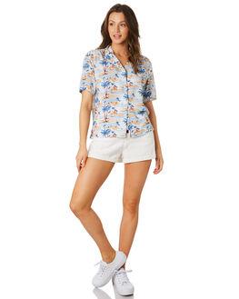 HAWAII WOMENS CLOTHING COOLS CLUB FASHION TOPS - 303-CW4HAW