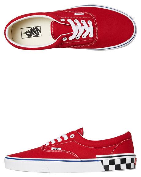 0a527571c8 Vans Mens Era Shoe - Tango Red