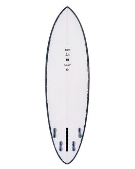 WHITE BLACK BOARDSPORTS SURF MISFIT SURFBOARDS - NUWAVRWHBLK