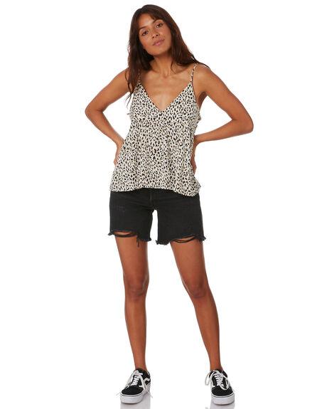 SAND WOMENS CLOTHING VOLCOM FASHION TOPS - B0432001_SAN