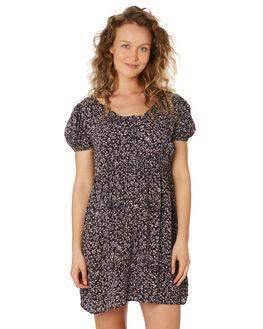 MIDNIGHT FLORAL WOMENS CLOTHING SAINT HELENA DRESSES - SHS192123MIDFL