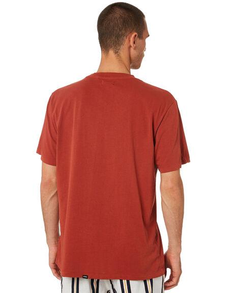 ROCKER RED MENS CLOTHING THRILLS TEES - TR9-100HRRKRED