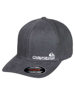 MEDIUM GREY HEATHER MENS ACCESSORIES QUIKSILVER HEADWEAR - AQYHA04574-KPVH