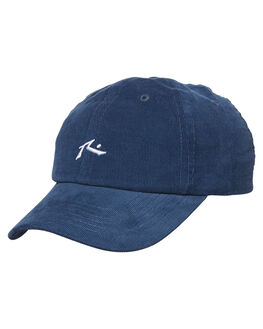 NAVY BLUE CORD MENS ACCESSORIES RUSTY HEADWEAR - HCM0873NCO