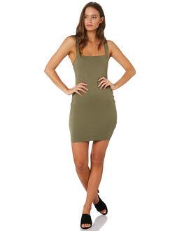 KHAKI WOMENS CLOTHING MINKPINK DRESSES - MB1808103KHAKI