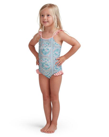 BLUE KIDS GIRLS BILLABONG SWIMWEAR - 5513712-BLU