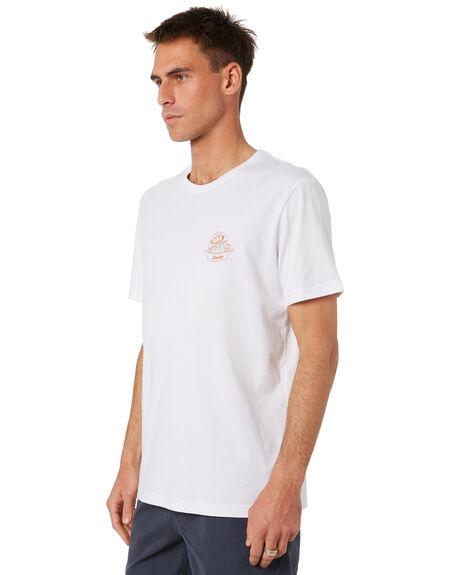 WHITE MENS CLOTHING RUSTY TEES - TTM2394WHT