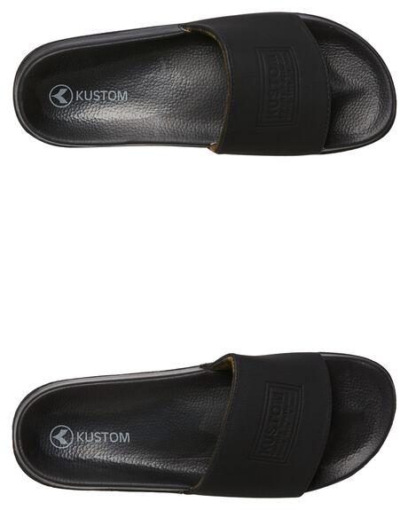 BLACK CAMO MENS FOOTWEAR KUSTOM SLIDES - 4983204BLKCA