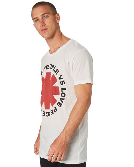 WHITE MENS CLOTHING THE PEOPLE VS TEES - SS18042AWHT