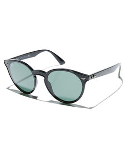 BLACK GREEN MENS ACCESSORIES RAY-BAN SUNGLASSES - 0RB4380NBLK