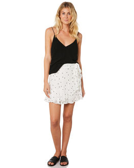 FLOATING HEARTS PRT WOMENS CLOTHING SASS SKIRTS - 13374SWSSFLO